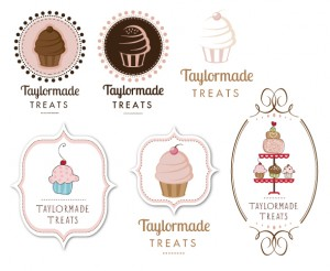 Alternative logo designs for Taylormade Treats