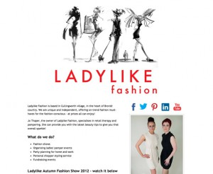 Ladylike Fashion website