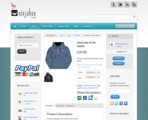 Ninjabox website