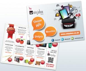 Ninjabox flyer