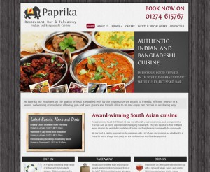 Paprika website