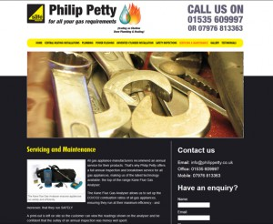 Philip Petty static website